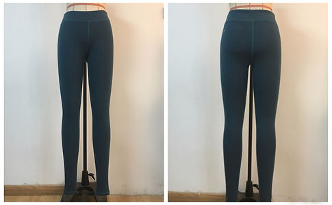 recycled nylon active leggings