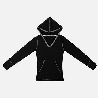 New Design Women Fitness Sports Eco-friendly Bamboo Hoodie Yoga Jacket .jpg
