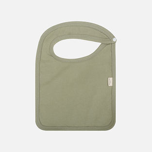 organic cotton and bamboo terry waterproof baby bibs