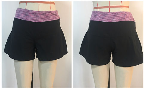 Recycled Nylon Two Layer Shorts