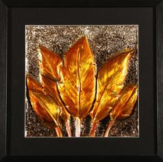 Golden Leaves Decor