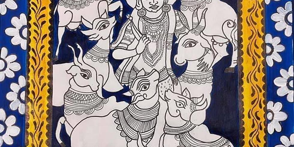 Orissa Pattachitra Painting Workshop