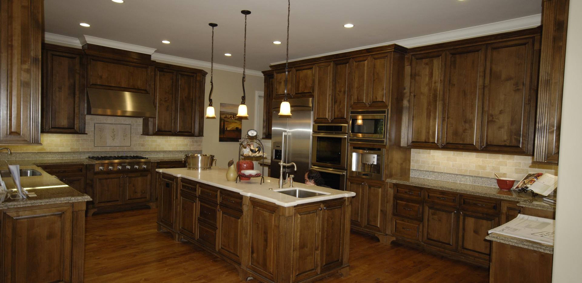 Alder Kitchen Raised Panel