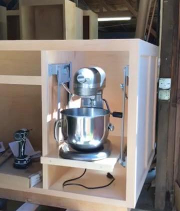 Kitchen Aid Mixer Lift