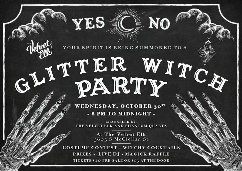 Glitter Witch Party