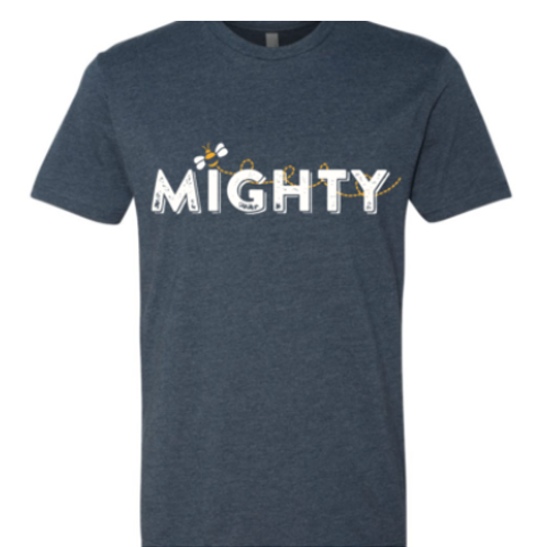 Bee Mighty Adult T-shirt