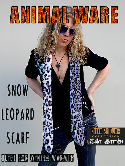SNOW LEOPARD SCARF HOLIDAY SALE!!!