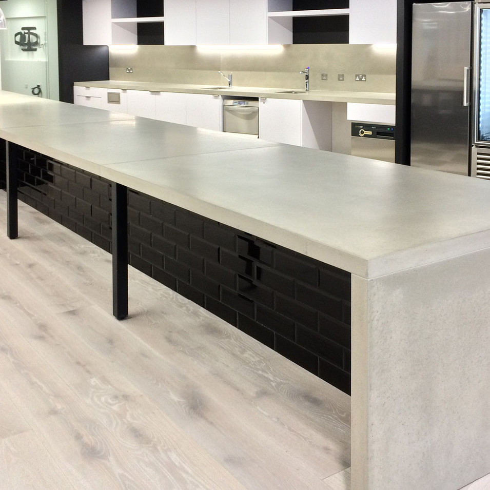 Cemento Cast Worktops: Indeed, London