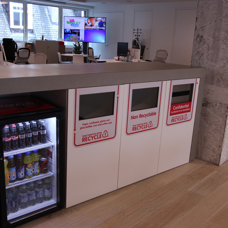Cemento Lightweight: C02 Smooth. CocaCola HQ, London