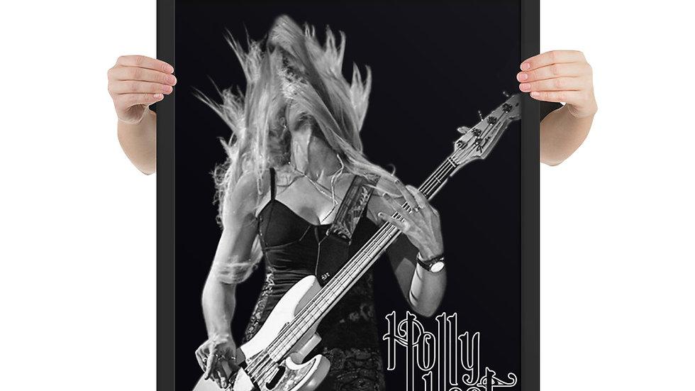 Hair Flip - Framed poster