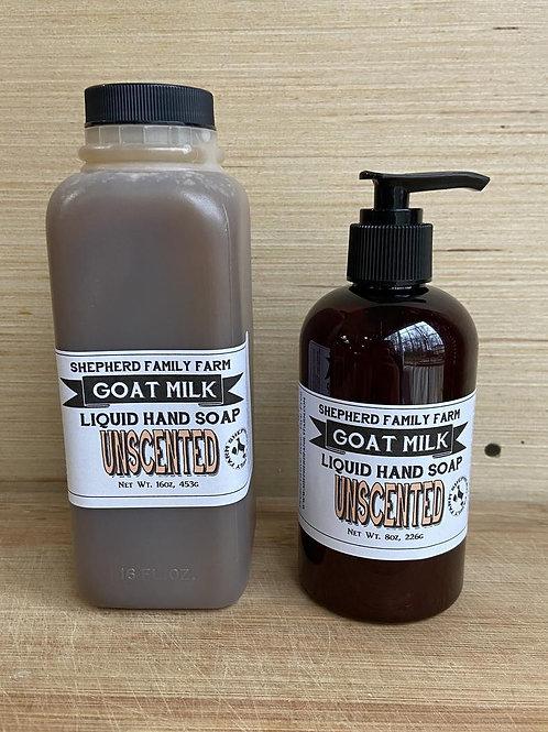 Goat Milk Liquid Soap 16 oz Refill Size