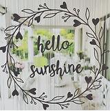 hello sunshine Fensterbild.JPG