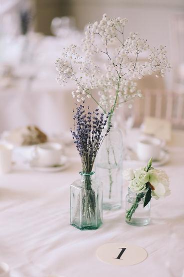decoration table des mariés