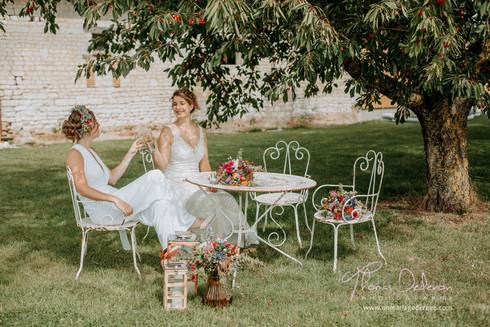 L&C - une jolie ambiance sous le cerisier Napoleon
