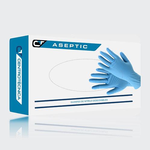 Caja de 100uds guantes desechables de nitrilo