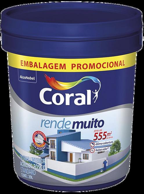 CORAL RENDE MUITO PROMOCIONAL 20L