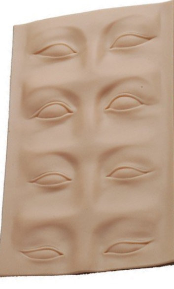 3D Practice Skin Pad for Eyes