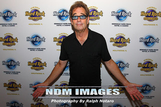 Huey Lewis performs at Hard Rock Live at the Seminole Hard Rock Hotel & Casino