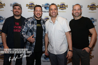 Impractical Jokers perform at the Hard Rock Event Center at the Seminole Hard Rock Hotel and Casino