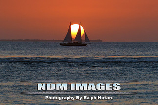 Sunset in Mallory Square in Key West