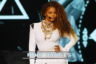 Janet Jackson performs at American Airlines Arena in Miami, FL. supporting her 'Unbreakable Worl
