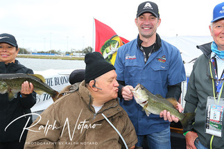 Darrell Gwynn Foundation Hot Rods & Reels Fishing tournament on the infield of the Daytona Inter