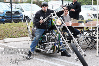 "Paul Teutul Sr. arrives for the ""Ride for Meadow"" motorcycle ride"