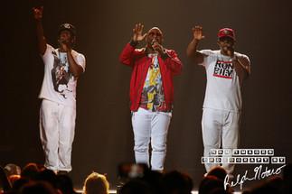 Boyz II Men perform at Hard Rock Live