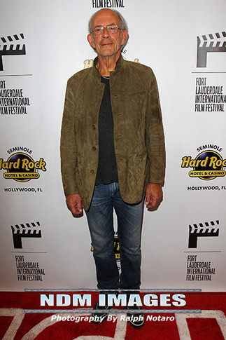 Christopher Lloyd attends Opening night of Ft Lauderdale International Film Festival at the Seminole
