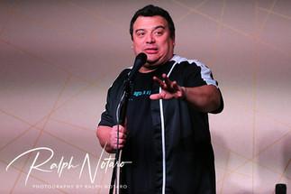 Carlos Mencia performs at Seminole Hard Rock Hotel & Casino Hollywood