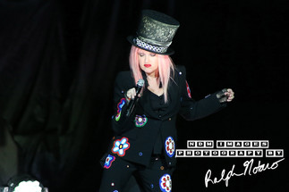 Cyndi Lauper performs at Hard Rock Live on Opening night of the 2017 Tour