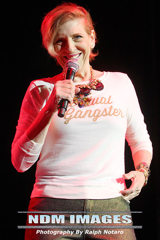 Lisa Lampanelli performs at Hard Rock Live at Seminole Hard Rock Hotel & Casino Hollywood