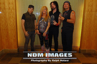 Lita Ford and the Lita Ford Band raise money for Pinktober and Breast Cancer Awareness at Hard Rock