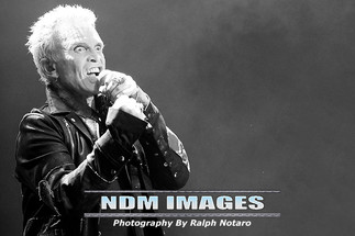 Billy Idol performs at Hard Rock Live at the Seminole Hard Rock Hotel & Casino in Hollywood, FL.