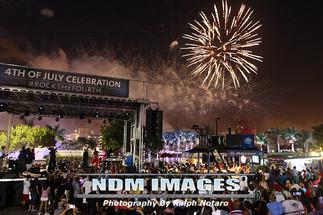 Seminole Hard Rock Hotel & Casino Fourth of July Celebration