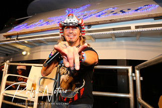 Winterfest Grand Marshal Bret Michaels, during the Greatest Show on H2O.