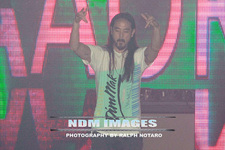Steve Aoki Cakes fans at Passion Nightclub at the Seminole Hard Rock Hotel & Casino