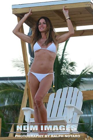 Kelly Bensimon shows off her bikini body in Boca