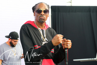 Snoop Dogg performs poolside during the Tampa Bay Daylife Party at the Seminole Hard Rock Hotel &amp