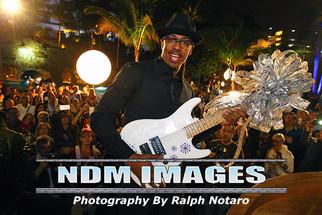 Nick Cannon attends the Seminole Hard Rock Hotel & Casino Winterfest Boat Parade Grand Marshal R