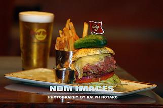 Hard Rock Cafe Burger Photo Shoot