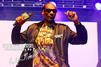 Snoop Dogg performs at Hard Rock Event Center