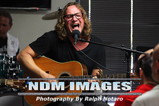 Candlebox singer Kevin Martin performs songs of recovery at Recovery Unplugged Treatment Center with