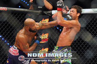 UFC Fight Night 70: Machida vs. Romero at Hard Rock Live in Hollywood, FL.