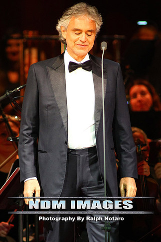 Andrea Bocelli performs at Hard Rock Live at the Seminole Hard Rock Hotel & Casino in Hollywood,