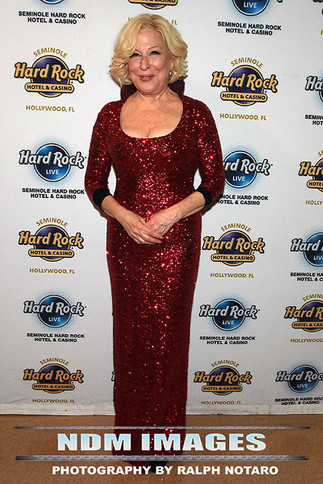 Bette Midler at Hard Rock Live at the Seminole Hard Rock Hotel & Casino, Hollywood