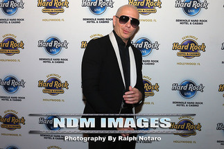 An Evening With Pitbull At Hard Rock Live