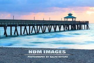 Deerfield Beach Pier at Sunrise