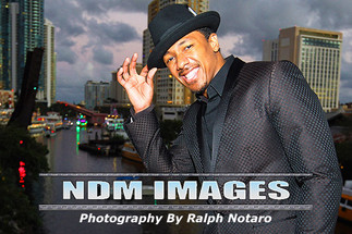 Nick Cannon Portrait Shoot and Winterfest Boat Parade photos