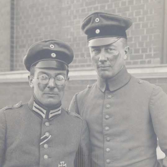 Bob's father on left during WWII with his navigator